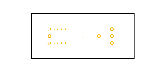 Toyama Controls - 6 Module Dimming User Interface