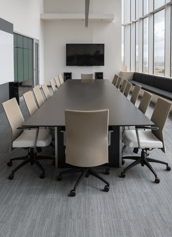 A conference room with office automation in pune
