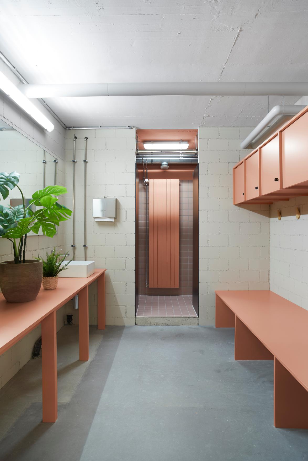 Garderobe & Dusche Enzian Health