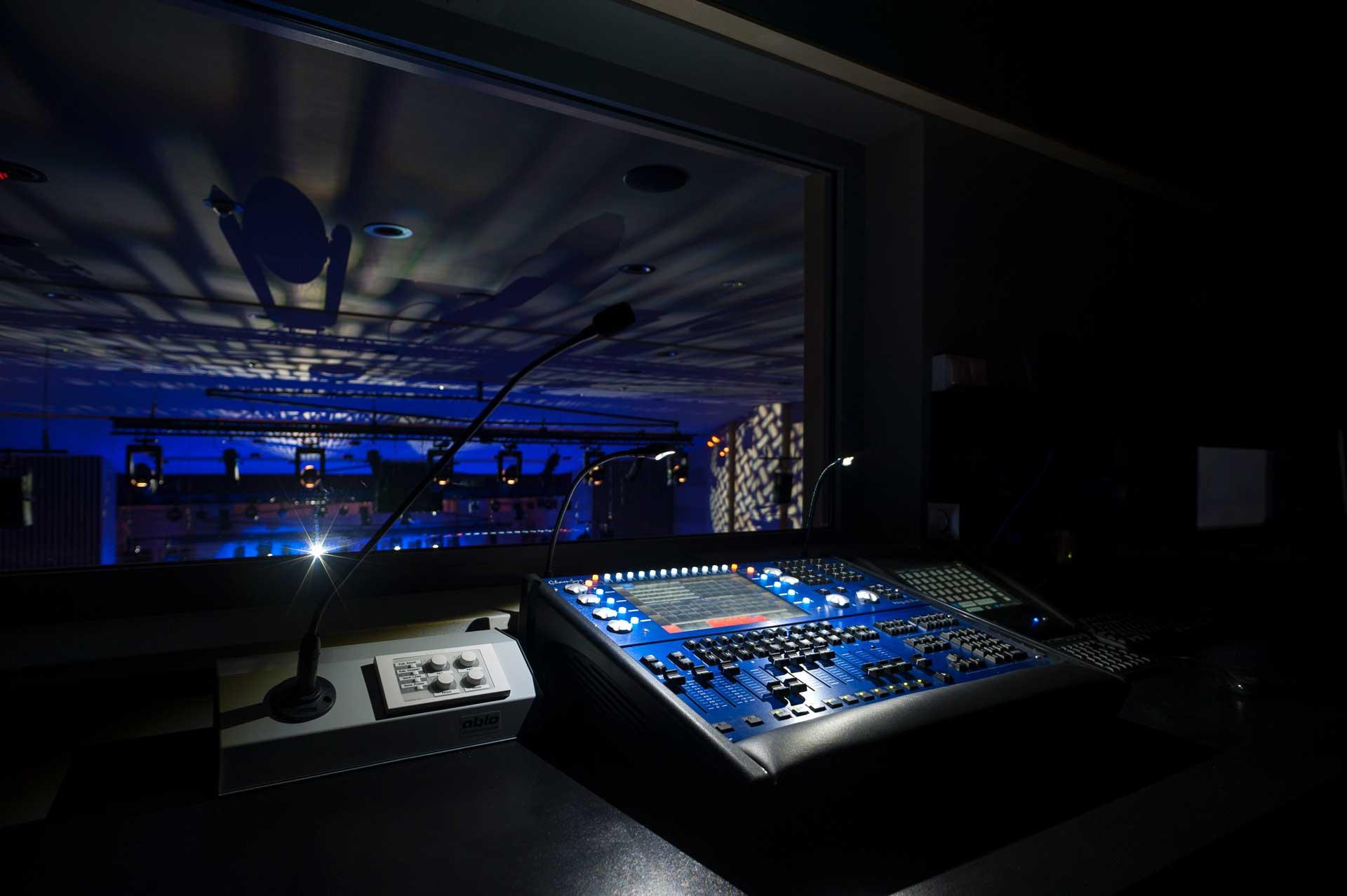 Reżysernia sali koncertowej