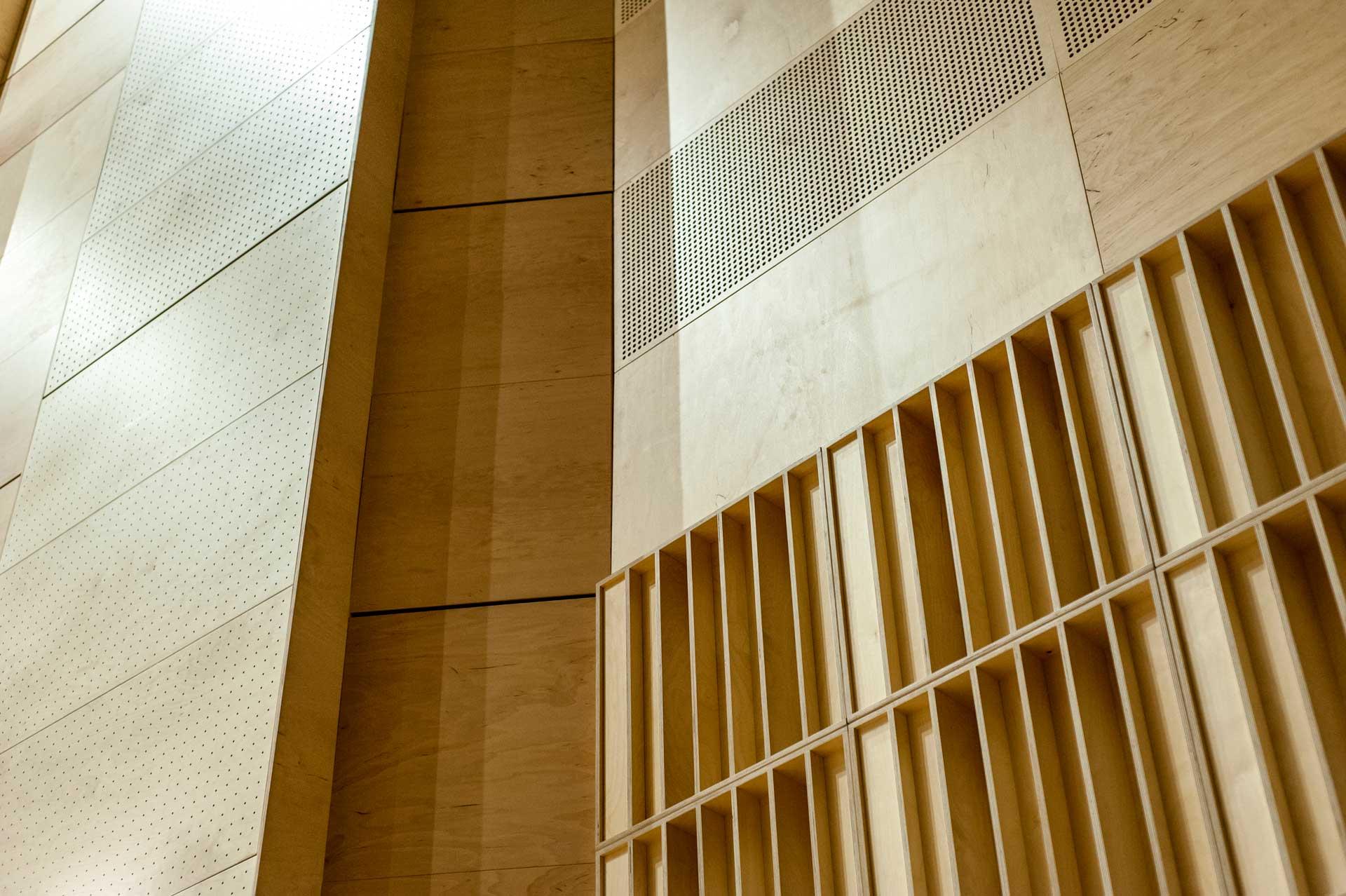 Panele perforowane, panele akustyczne, dyfuzory akustyczne