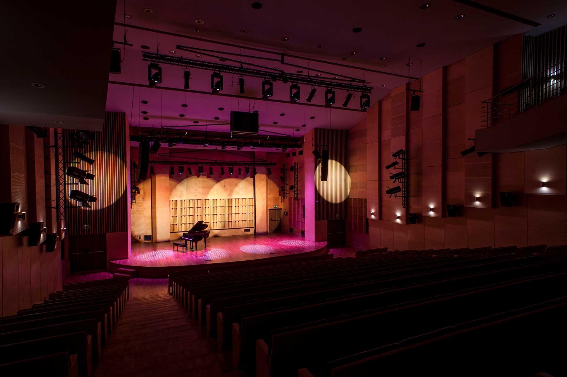 Sala koncertowa, system nagłośnienia