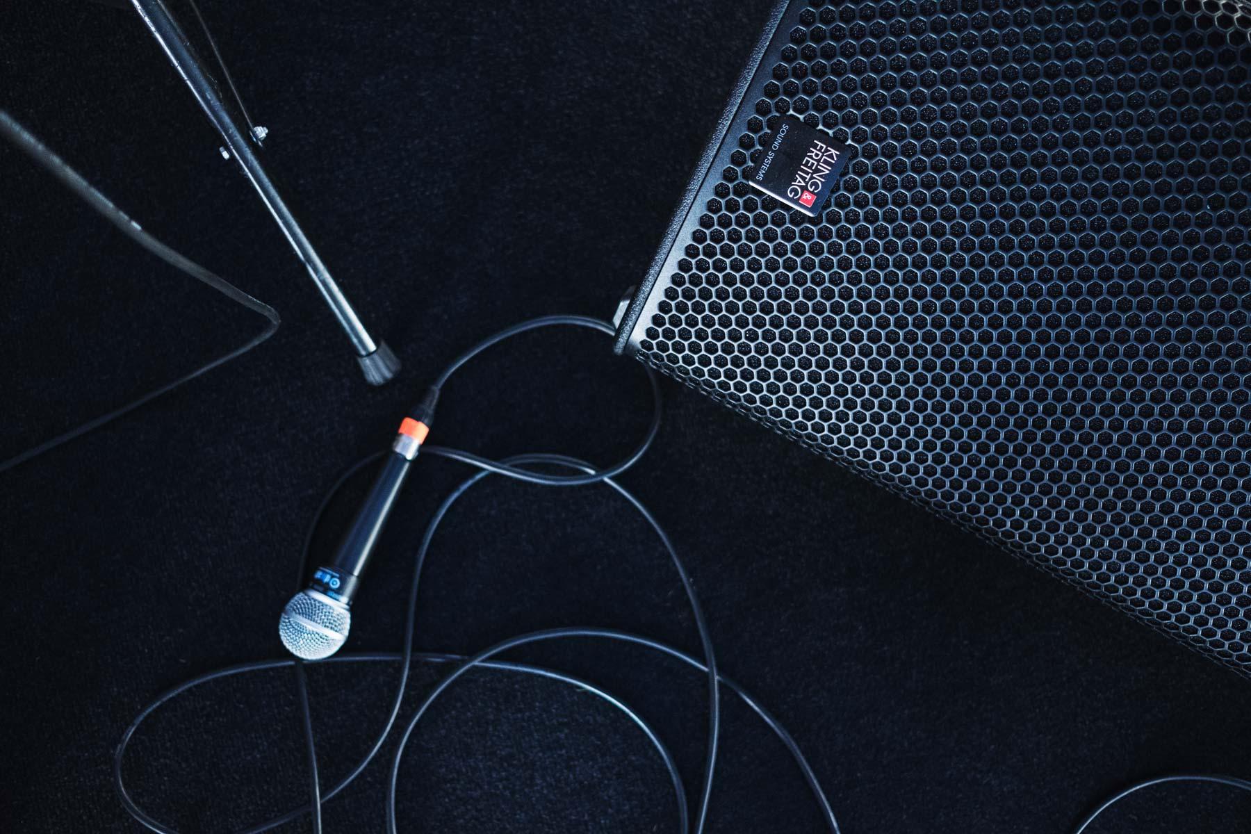 Mikrofon i głośnik