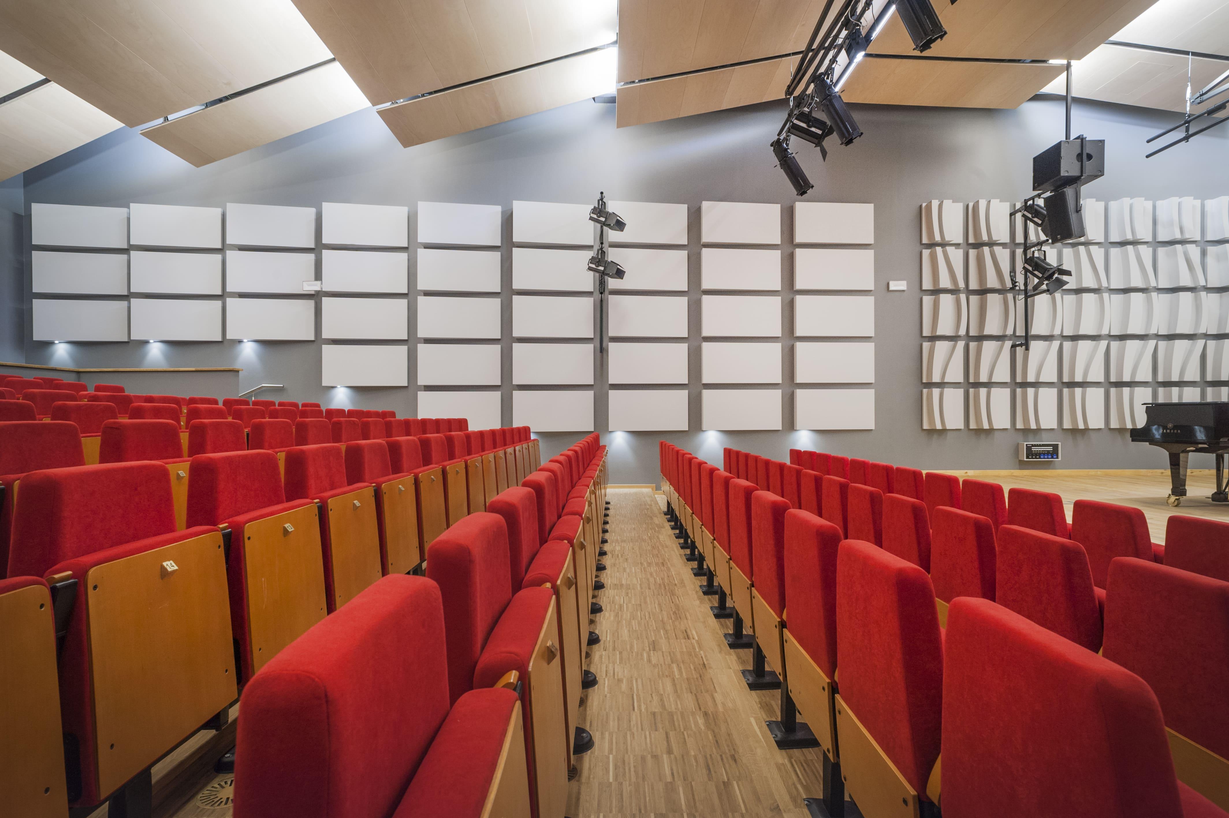 Sala koncertowa, szkoła muzyczna katowice