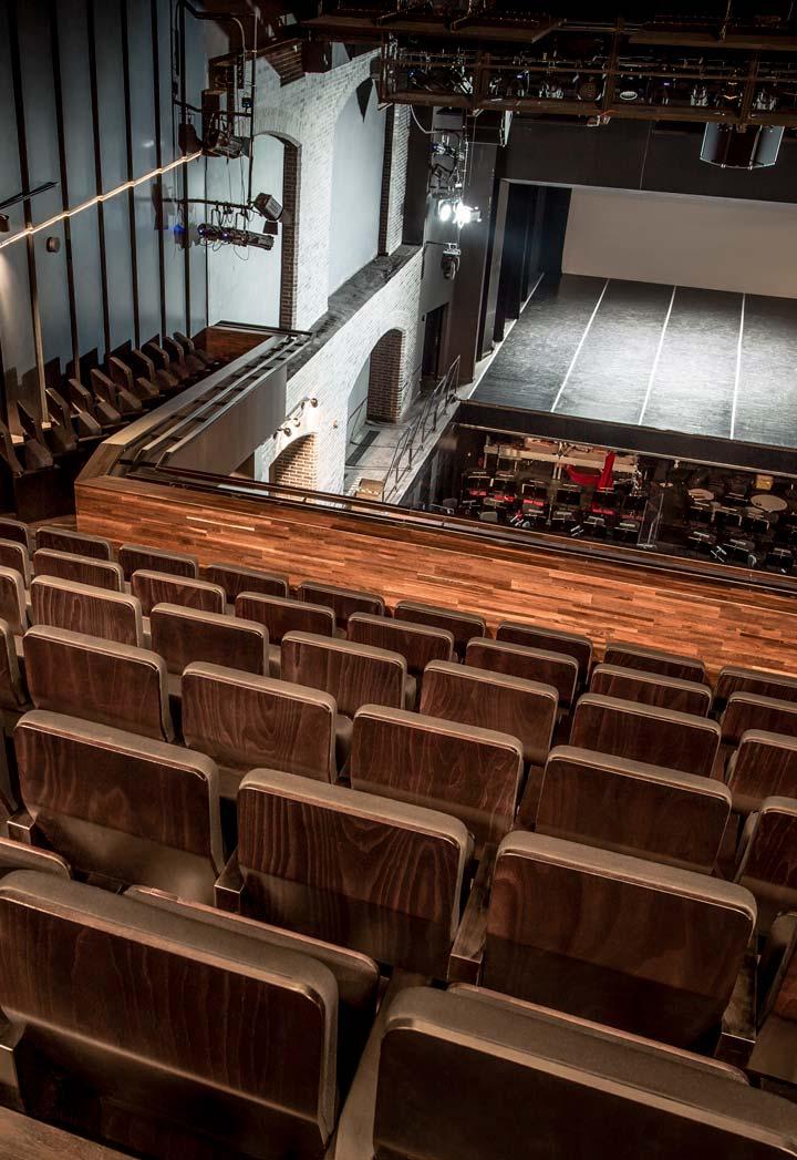 Sala teatru, Opera na Zamku w Szczecinie