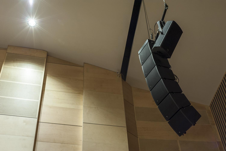System nagłośnienia w sali koncertowej