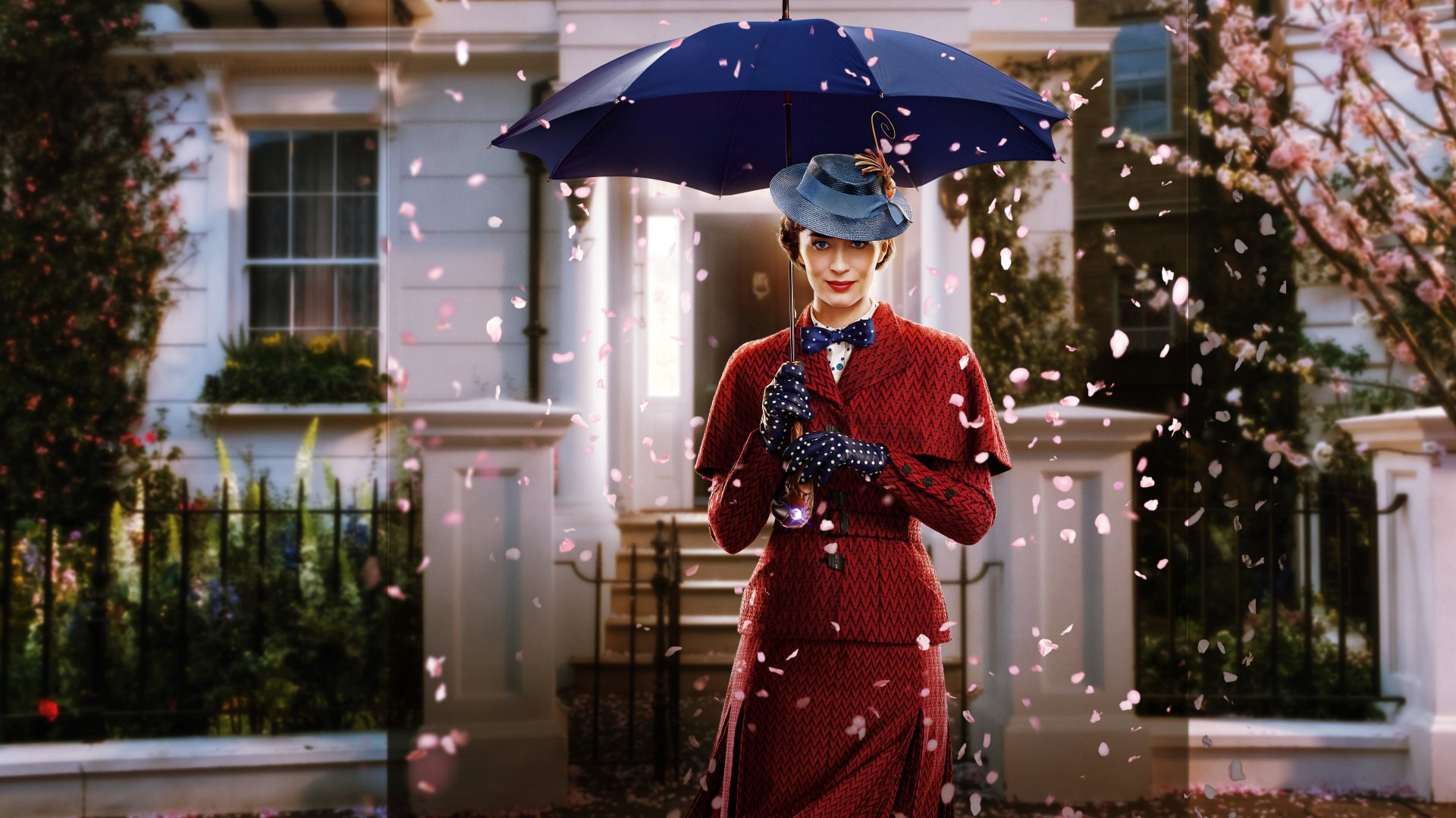 The poster for the Walt Disney film Mary Poppins Returns, which used Metro Rigging's services.