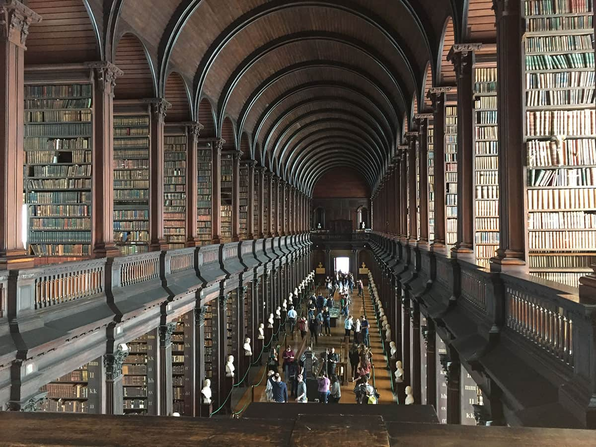 Refurbishment of the Old Library at Trinity College Dublin