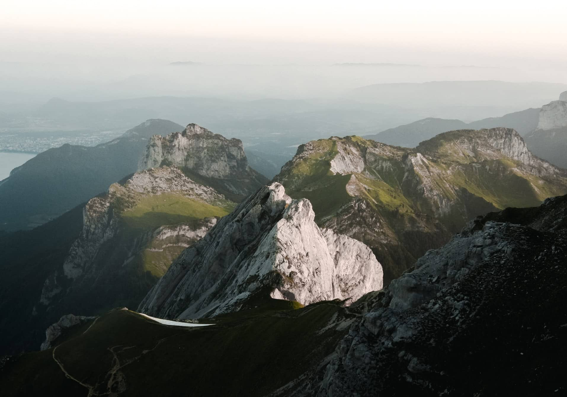 Massif montagneux proche d'Annecy
