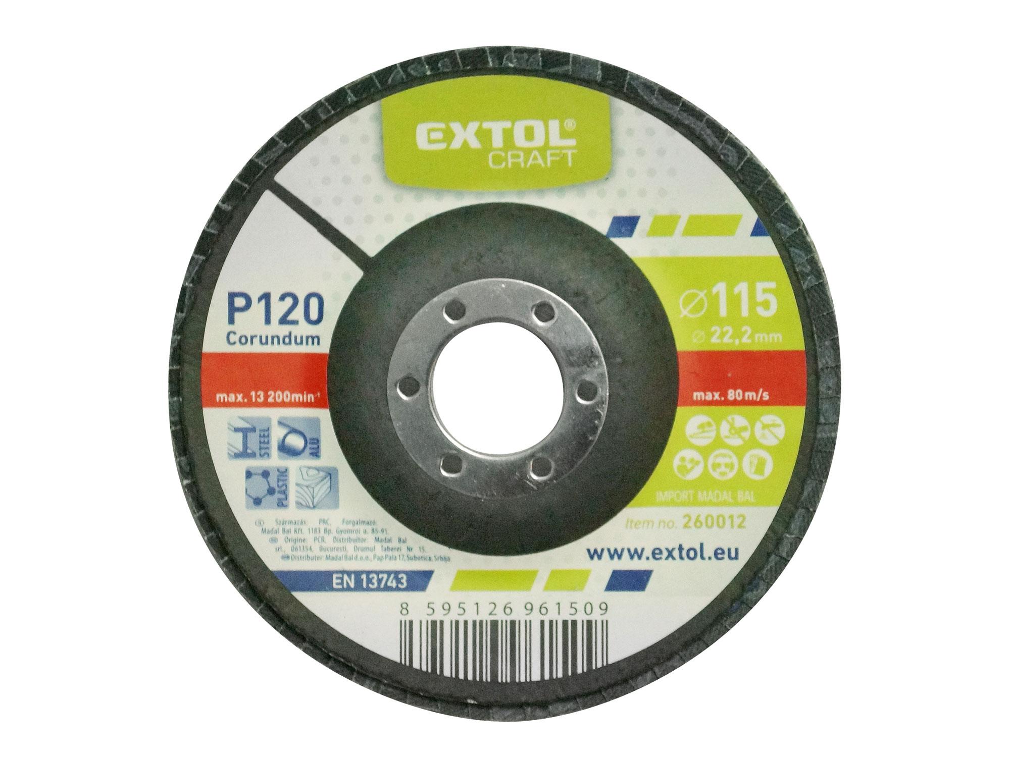 Flap Disc, 115mm Dia, P120