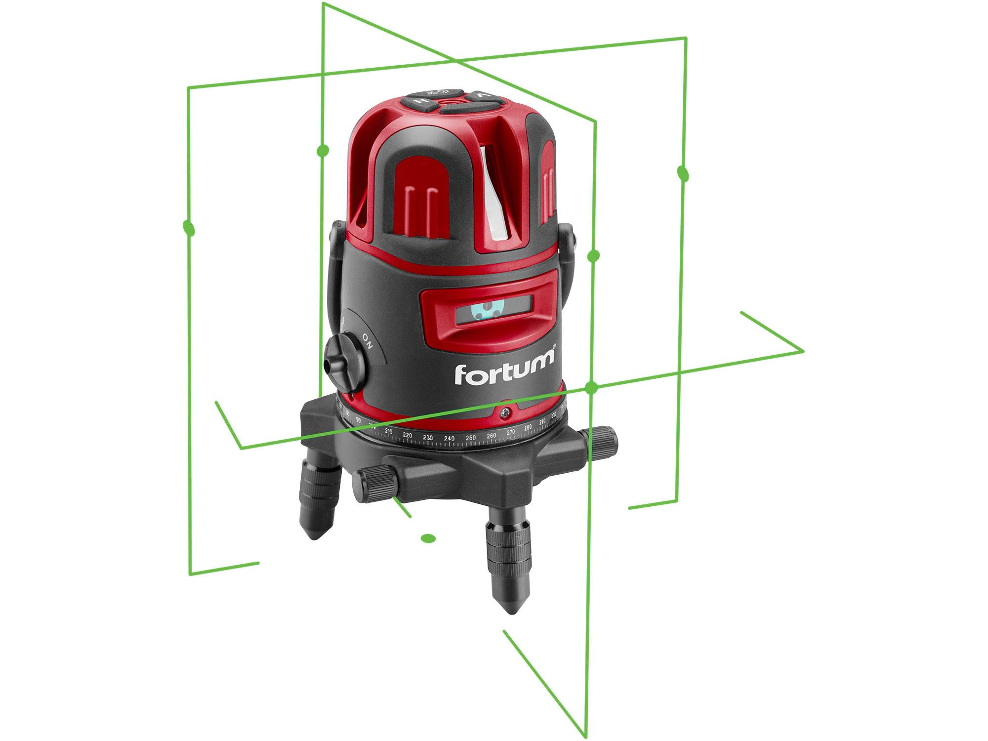 Laser Liner, Green 4V1H6D with swivel base 3.7V/1150mAh Li-on battery