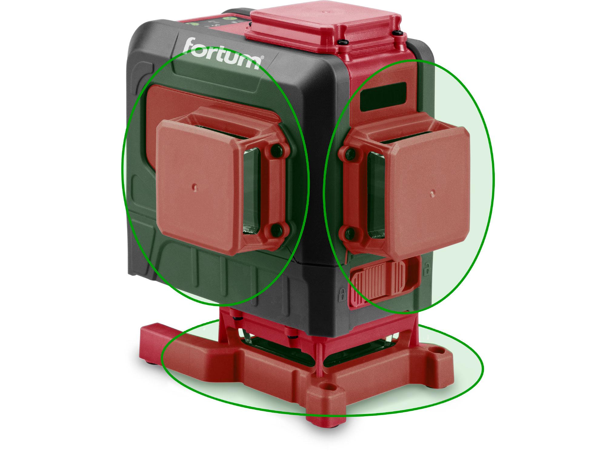 Laser Liner, 2H1V Green with PV3 holder,5200mAh Li-ion batt