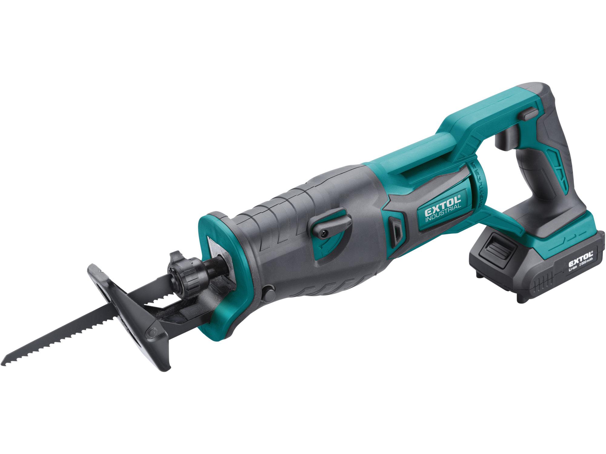 Cordless Brushless Reciprocating Saw, SHARE20V, 1x2000mAh Battery