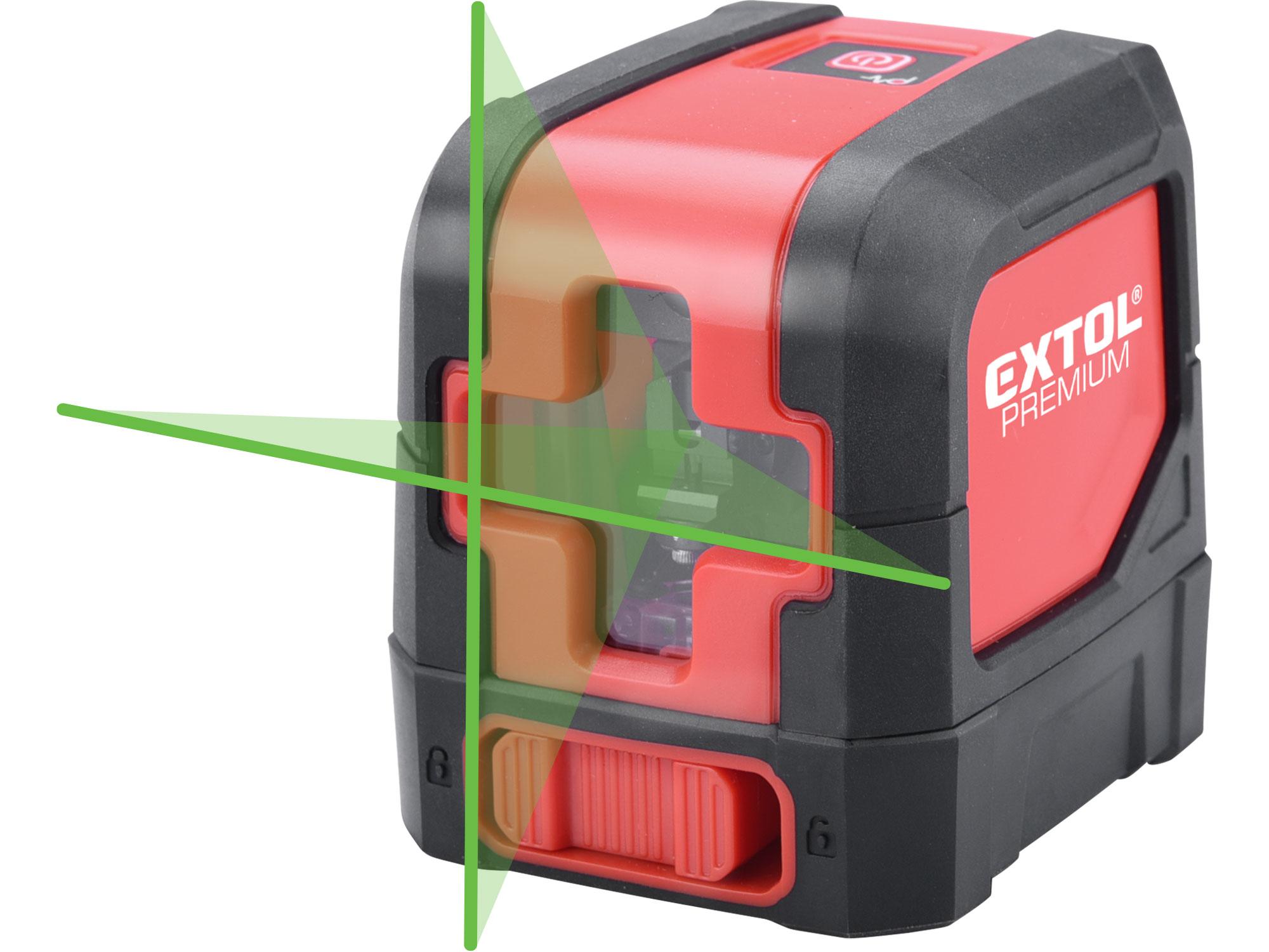Cross Laser Level, 1H1V, GREEN 10mW beam