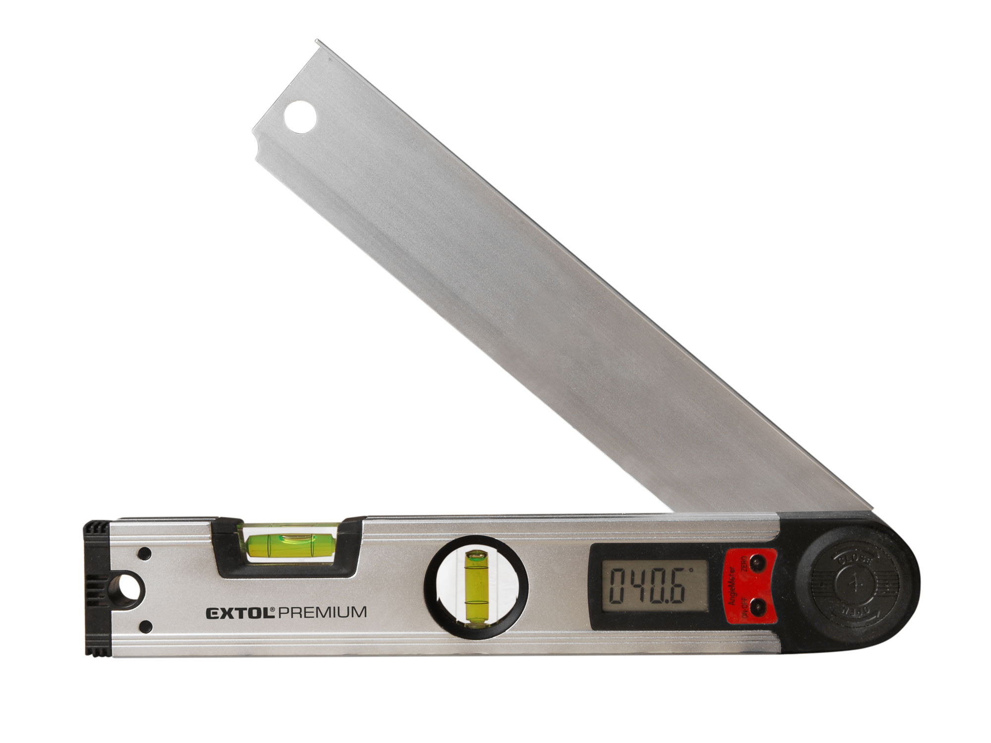 Spirit Level with Digital Protractor 0°-225°, 305mm