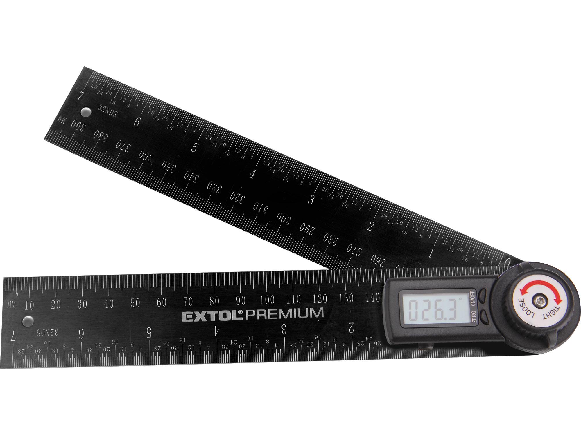 Digital Angle Rule, 200mm long