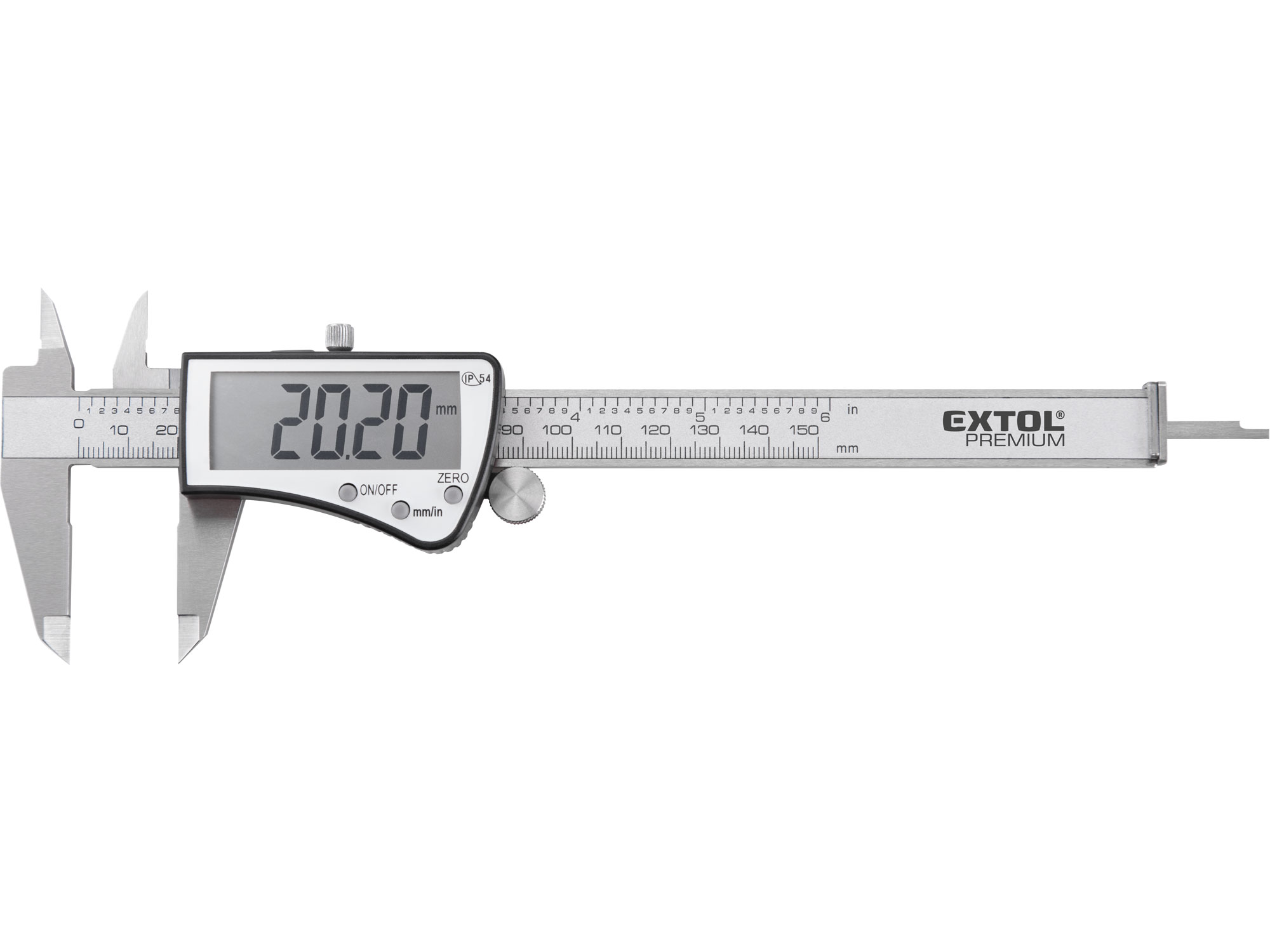 Digital Calipers, Big Screen, 0 - 150mm range