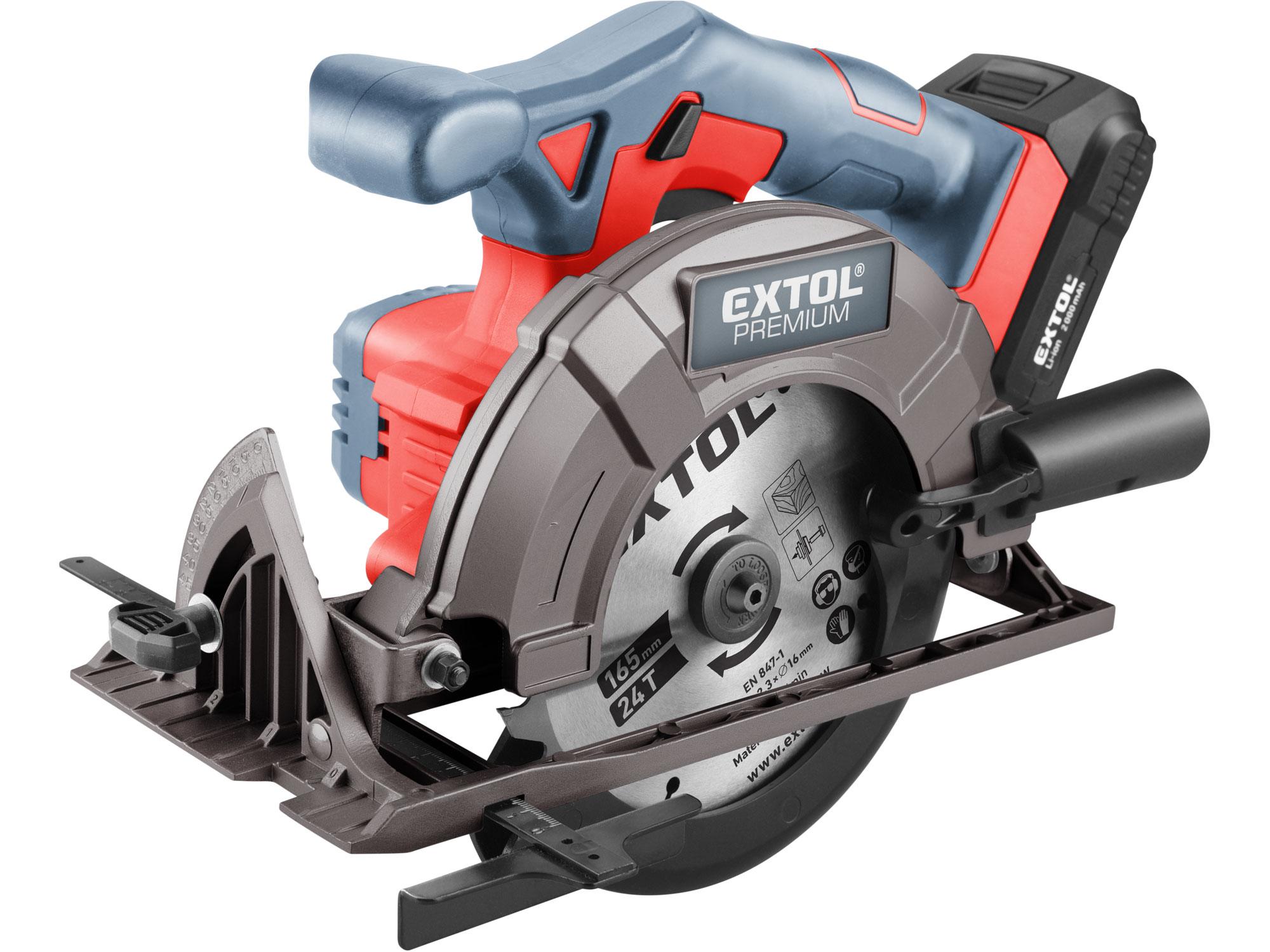 Cordless Circular Saw, SHARE20V, 165mm, 1X 2000mAh Battery