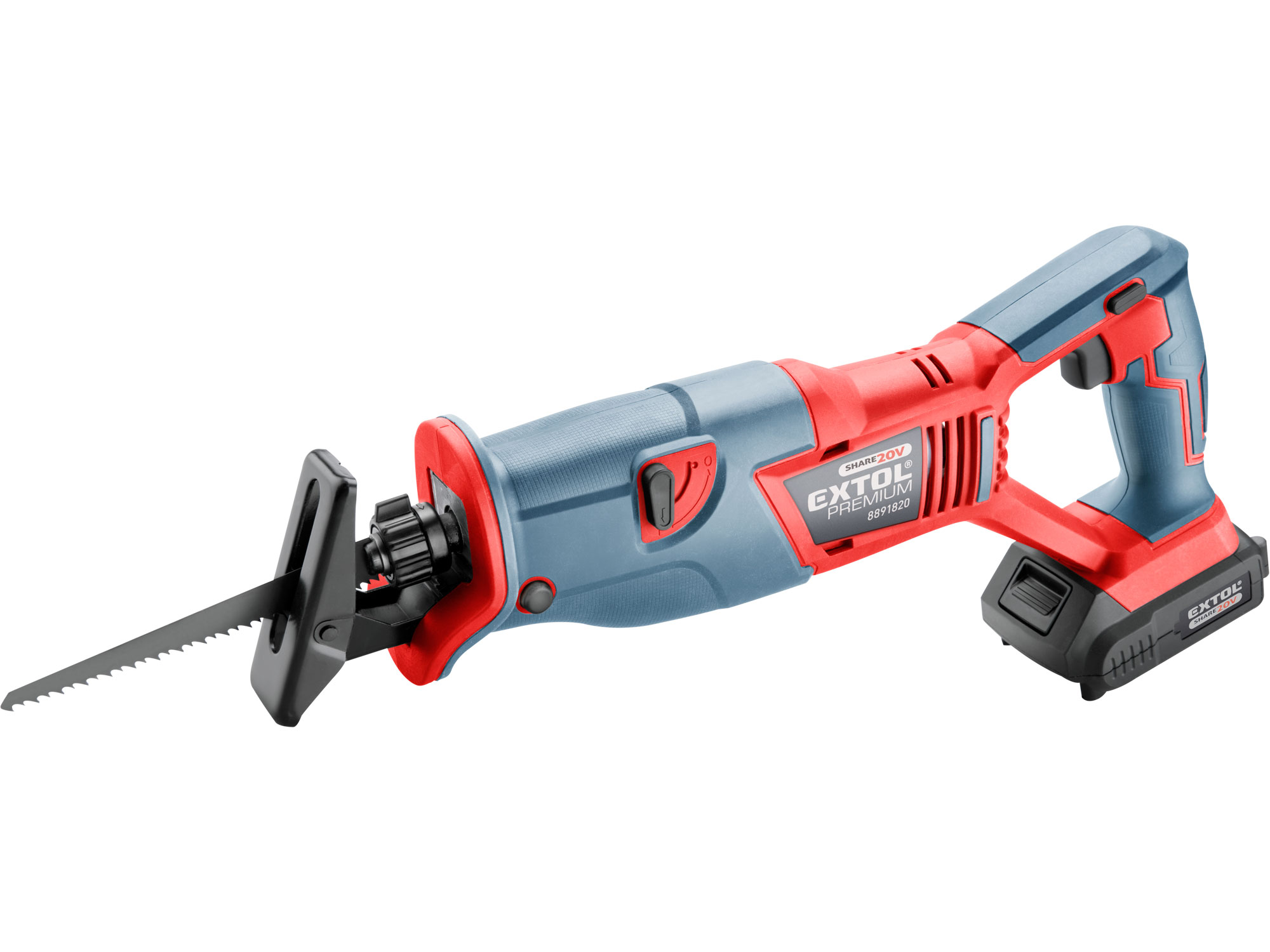 Cordless Reciprocating Saw, SHARE20V, 1x2000mAh Battery