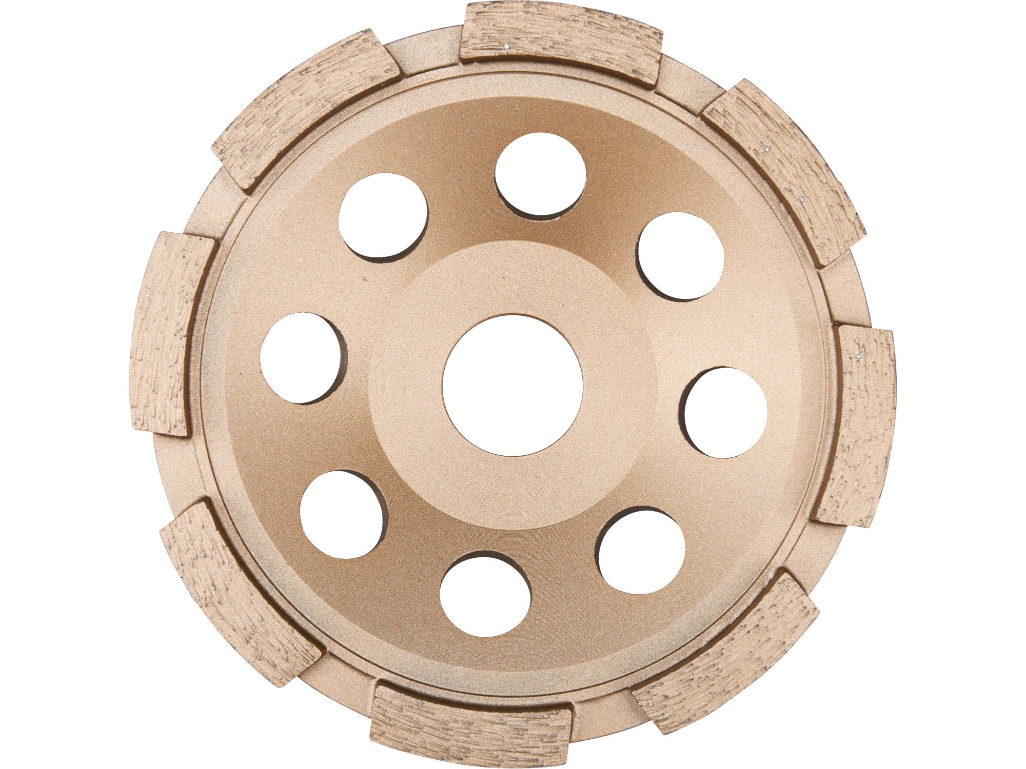Diamond Grinding Wheel, Single Row, 115mm Dia, 22.2mm ID
