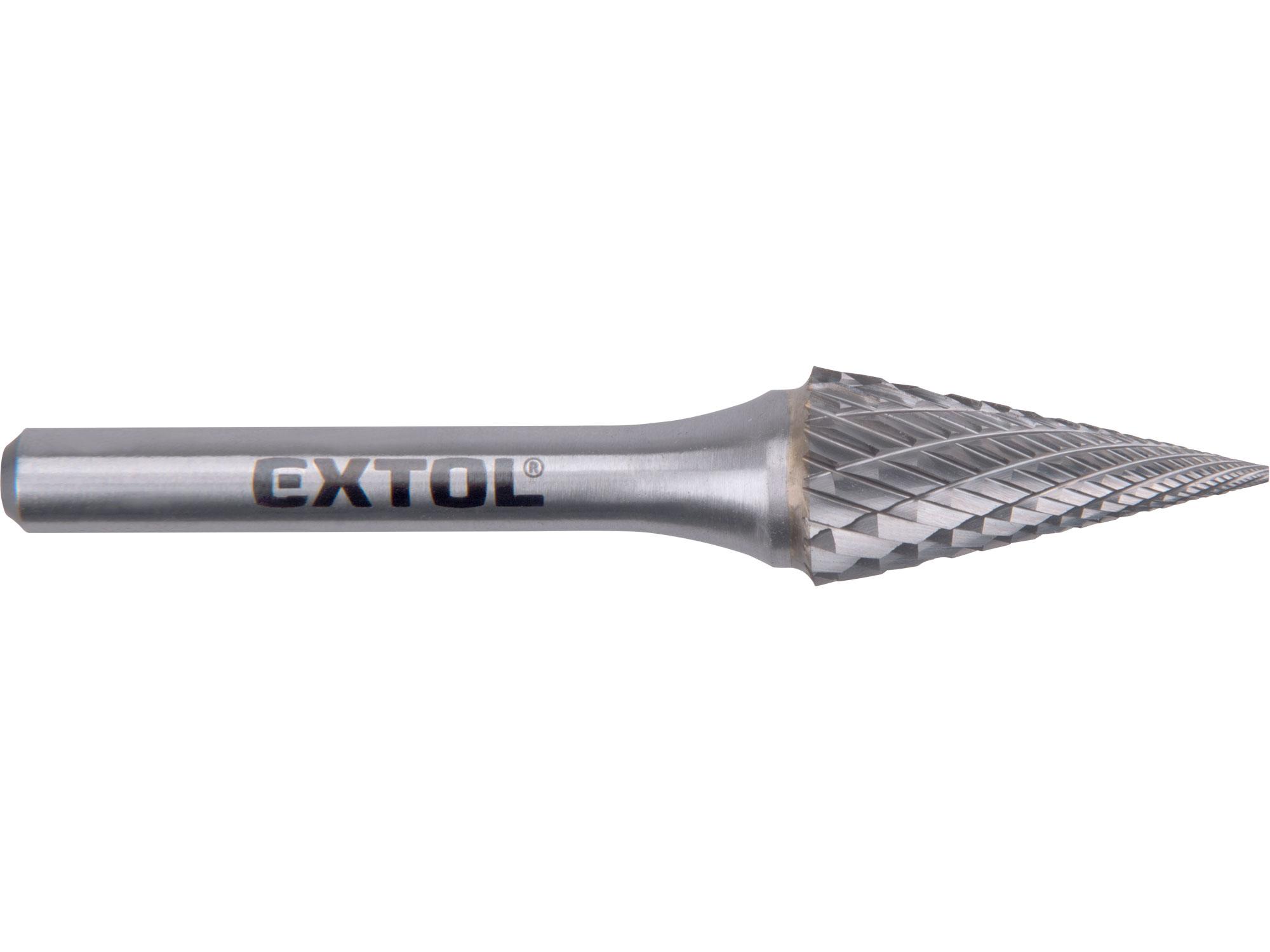 Carbide Burr, Cone, dia12x25mm, shank 6mm,total length 70mm, (double-cut)