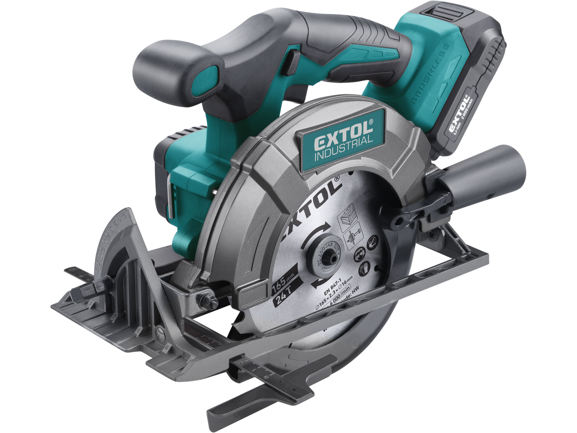 Cordless Circular Saw with Brushless Motor, SHARE20V