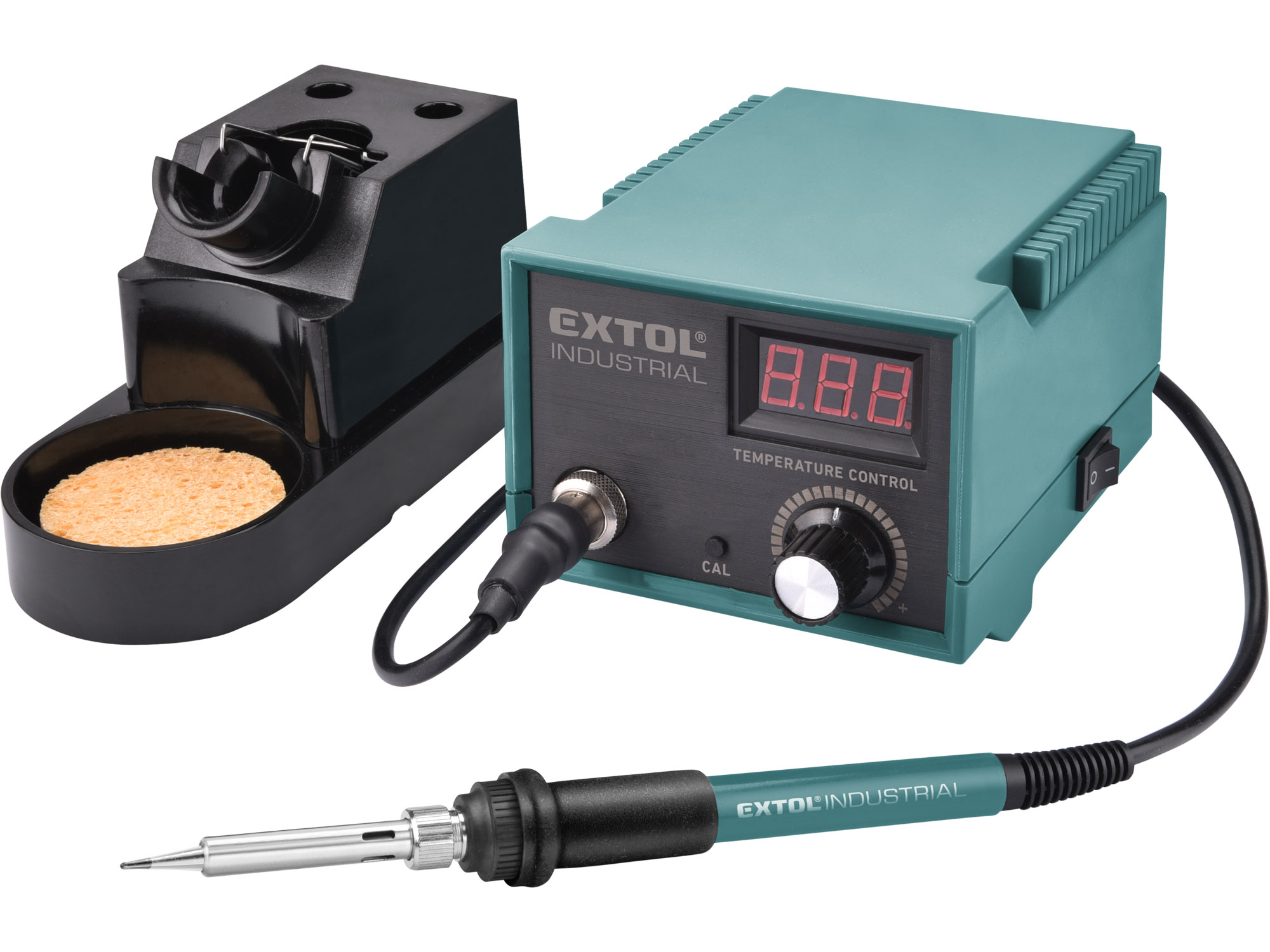 Soldering Station, LCD & Electronic Temperature Control & Calibration