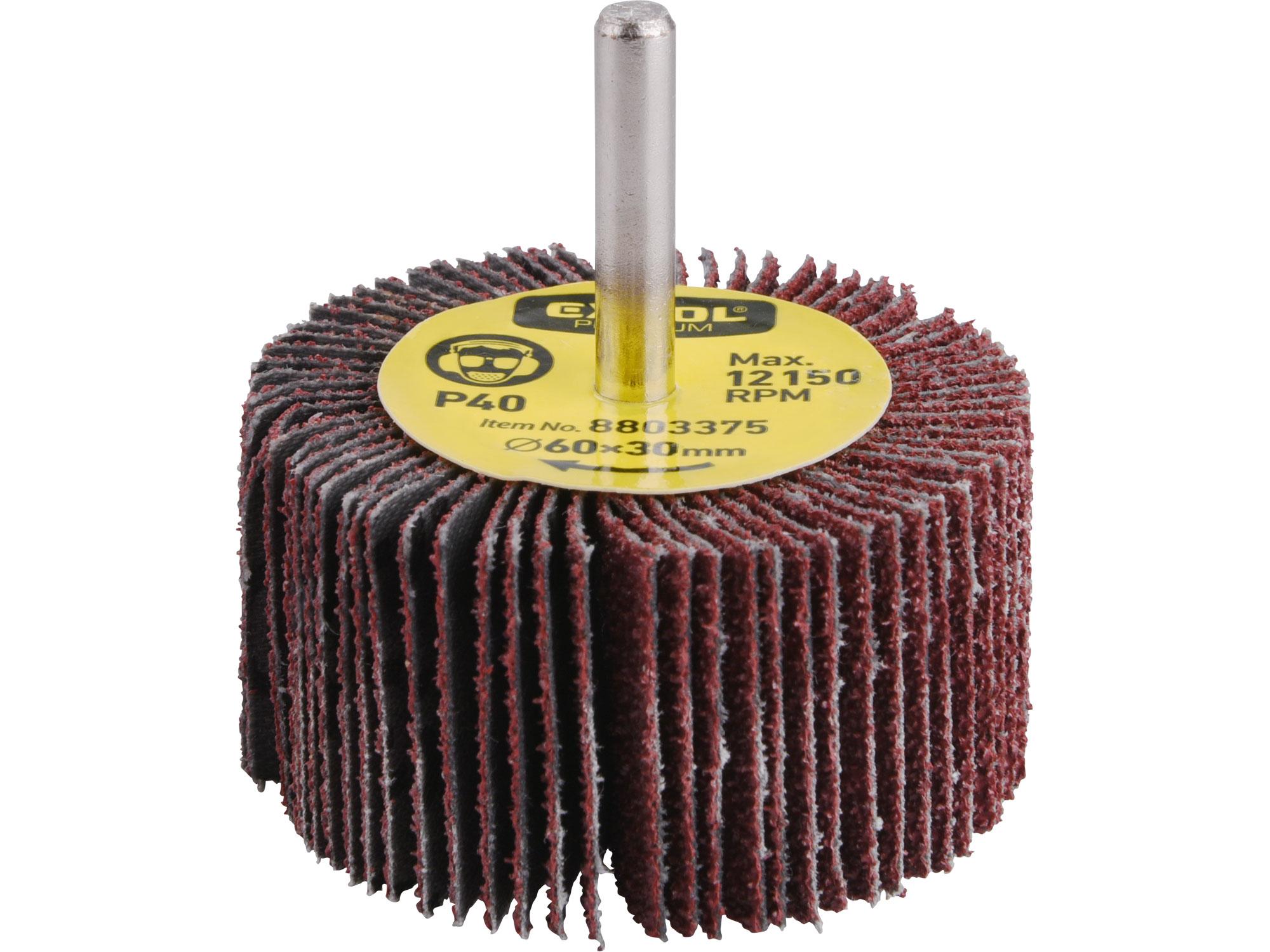 Sanding Flap Wheel dia60x30x6mm shank, P100