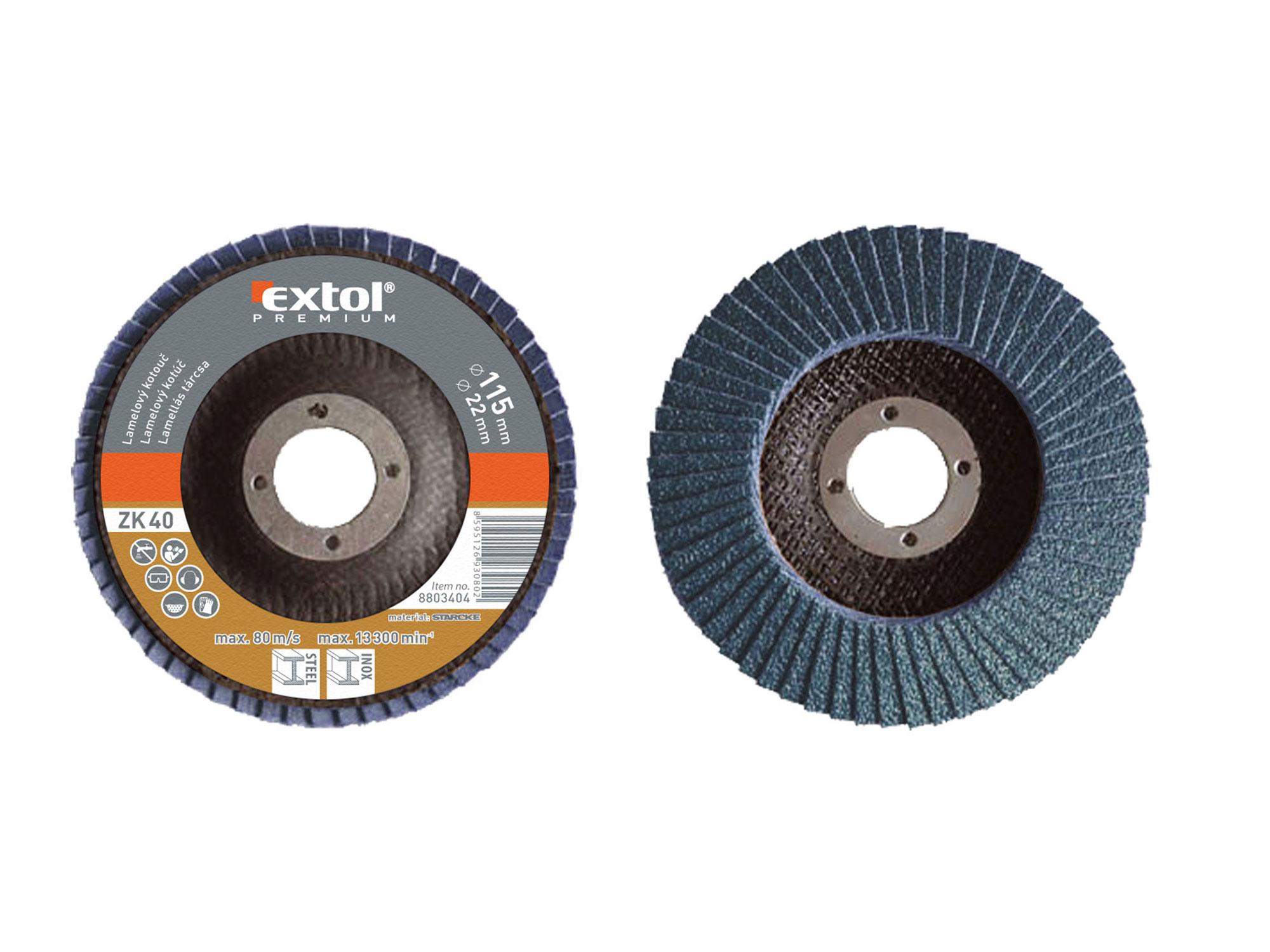 abrasive flap disc, inclined ,115mm P60, zirconium