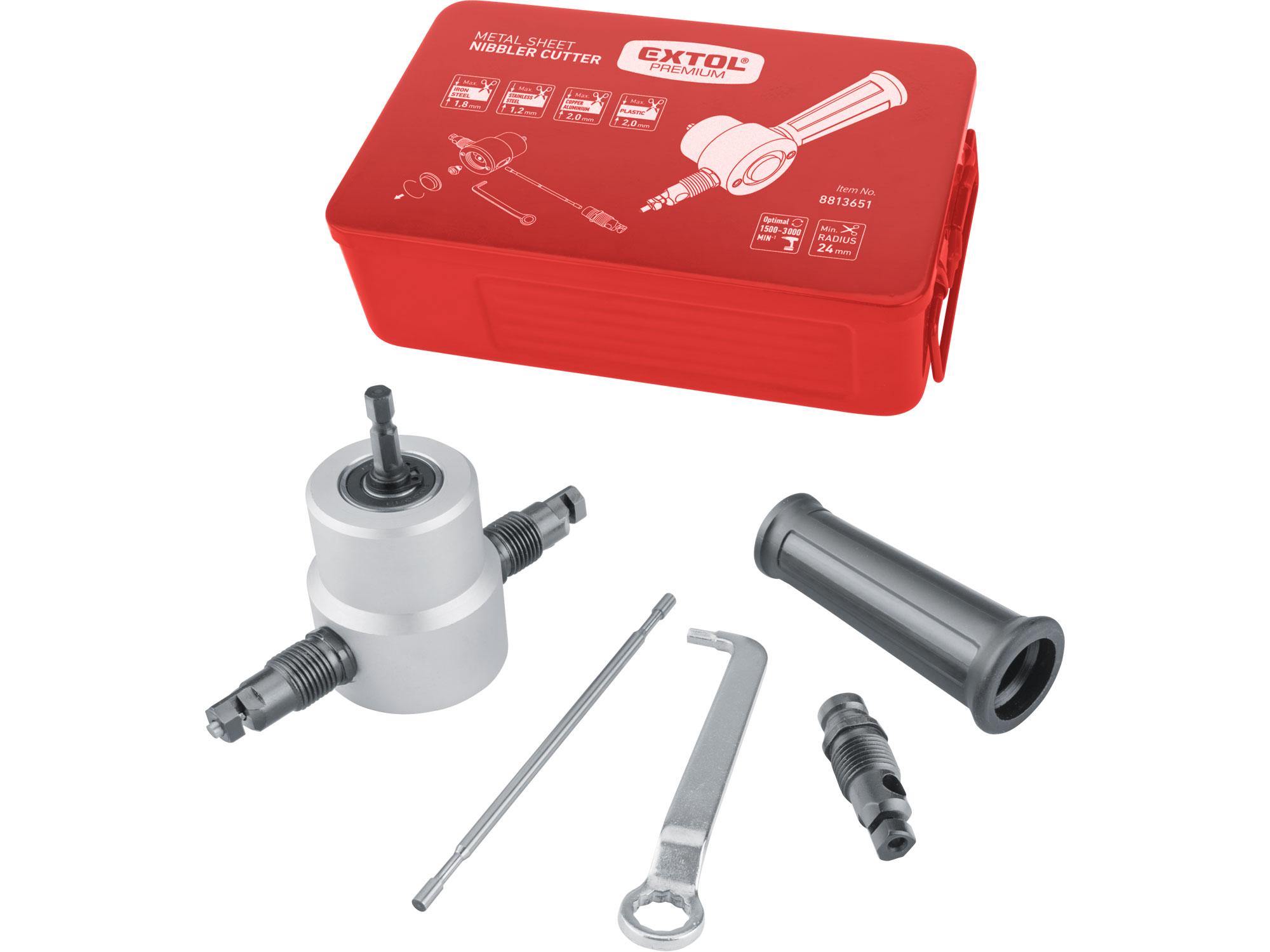 Drill Bit Sheet Metal Nibbler Cutter, bilateral
