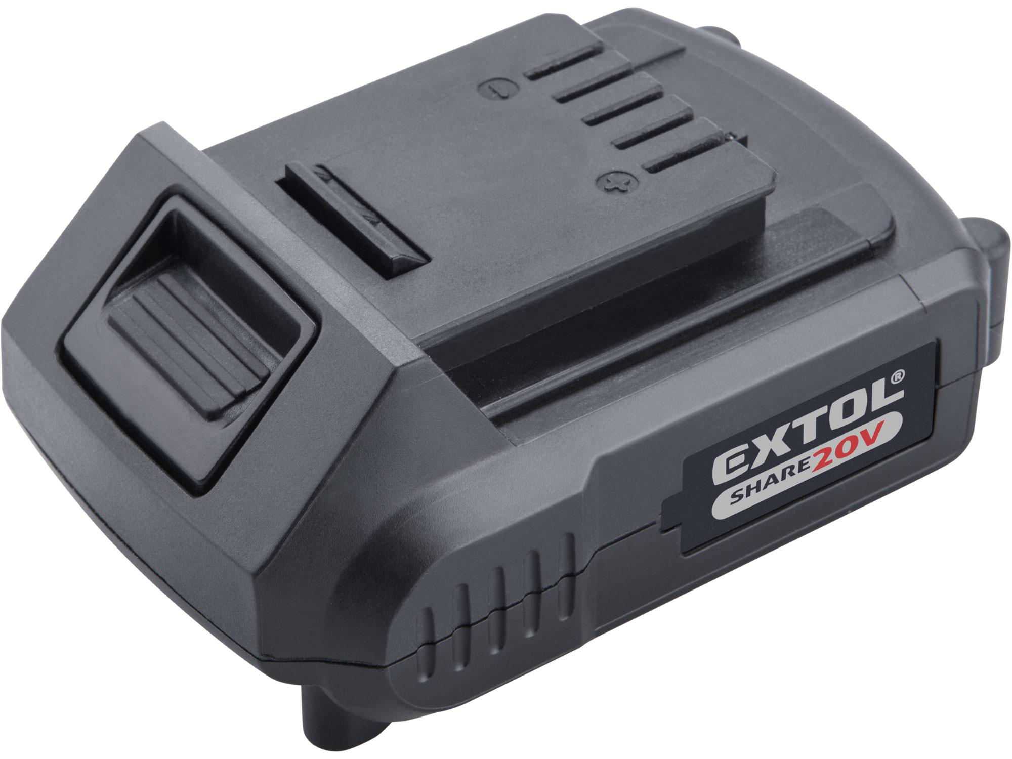 battery 20V Li-ion, 2000mAh