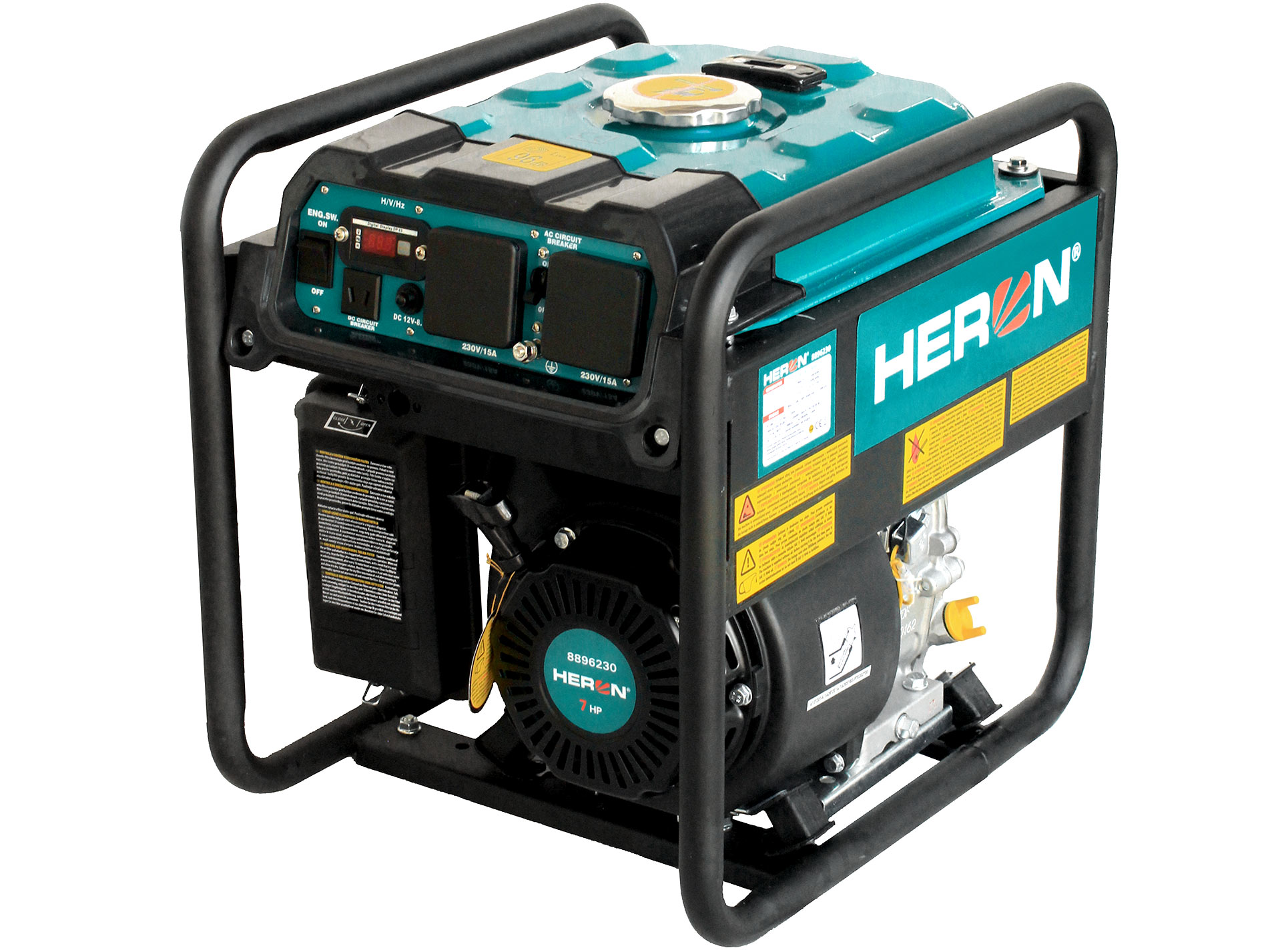 Digital 7hp, 3.7kW Petrol Generator