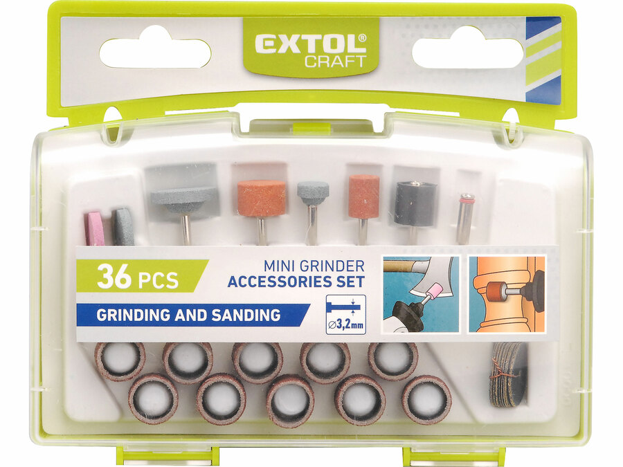 Rotary Tool Accessories - Sanding and Grinding 36pcs set