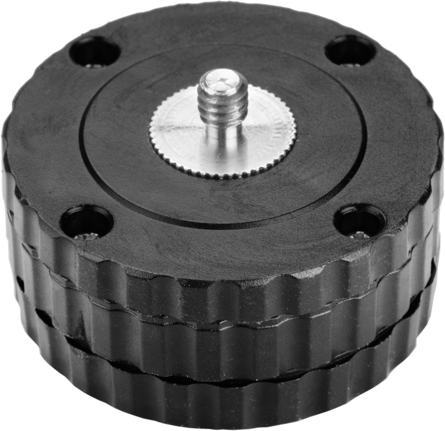 """Rotating adaptor , 1/4"""" mount, for tripods, inside thread 5/8 """"- mount 1/4"""""""
