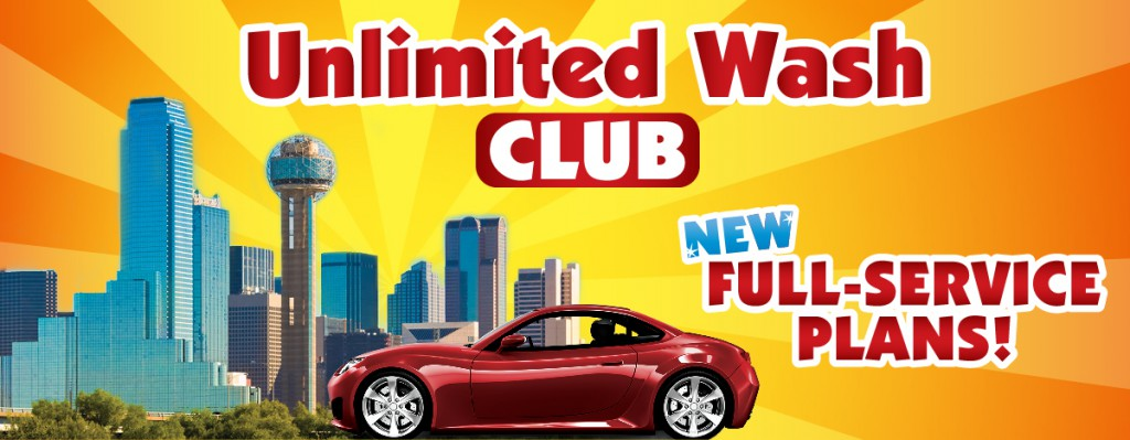 Unlimited Wash Club New Full Service Plans