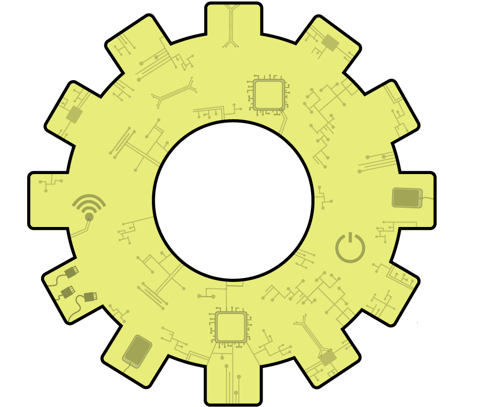 An image of the cog in the Cloud Top Technology logo
