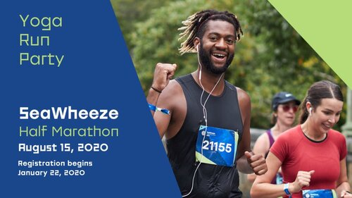AUGUST: Seawheeze Half Marathon