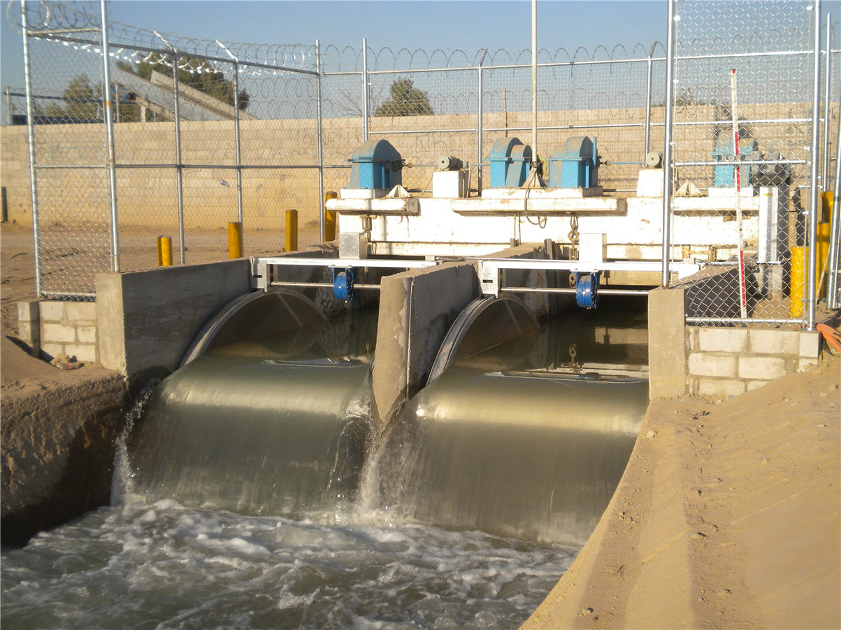 Mexicali Automated Irrigation Control Gates
