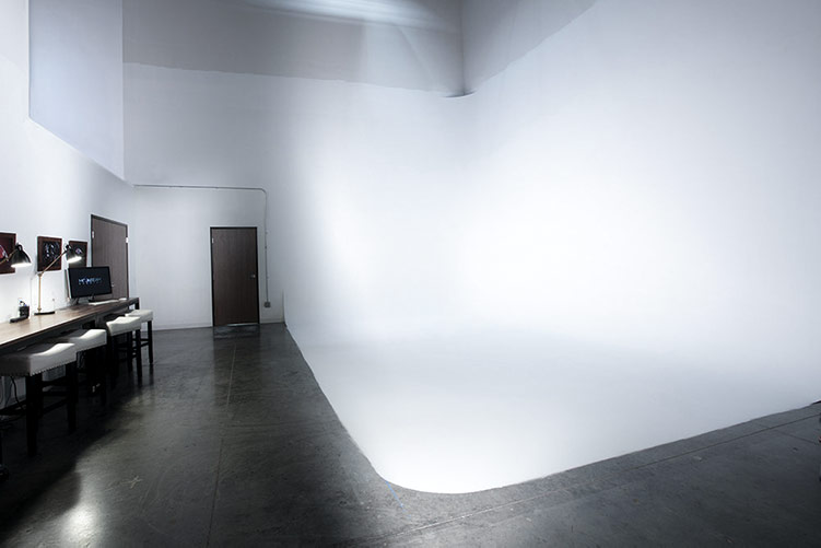 Moonbeam Studios has a 1200 square foot studio for photography and videography productions with a 16 foot by 24 foot white seamless syke.