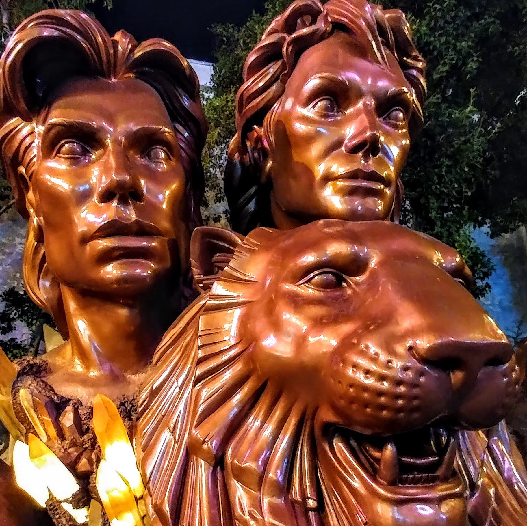 Photo of Siegfried and Roy Monument