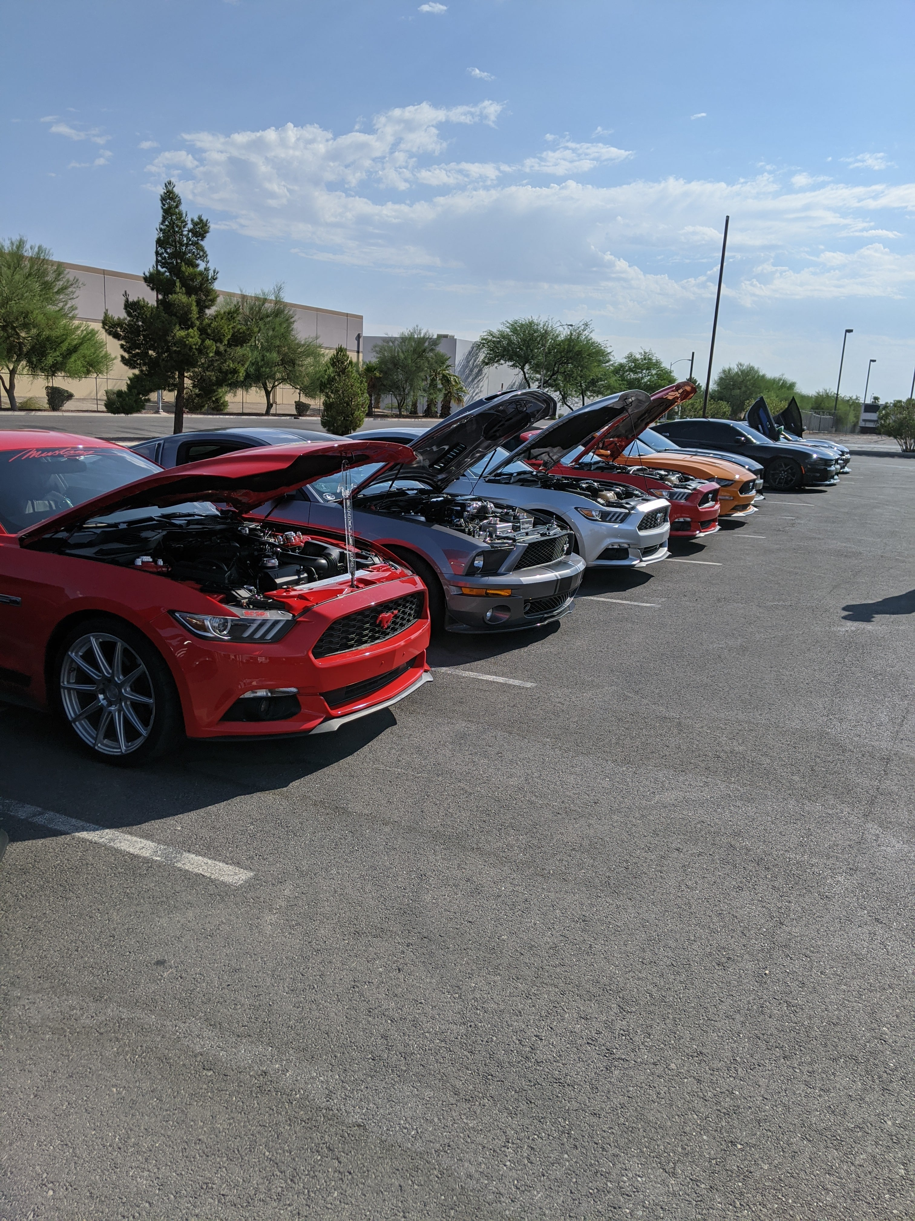 Cars and Coffee in Las Vegas