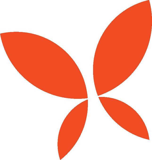 Harmony butterfly symbol.