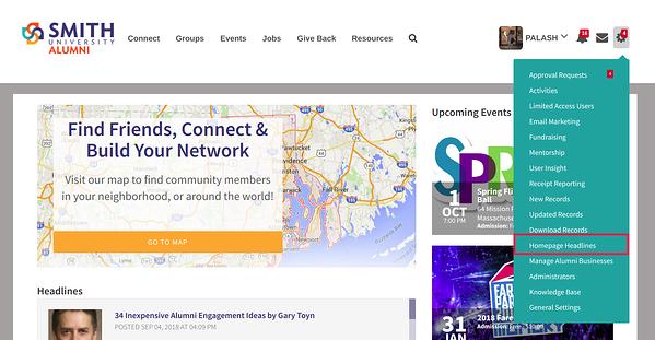 Homepage-Headlines