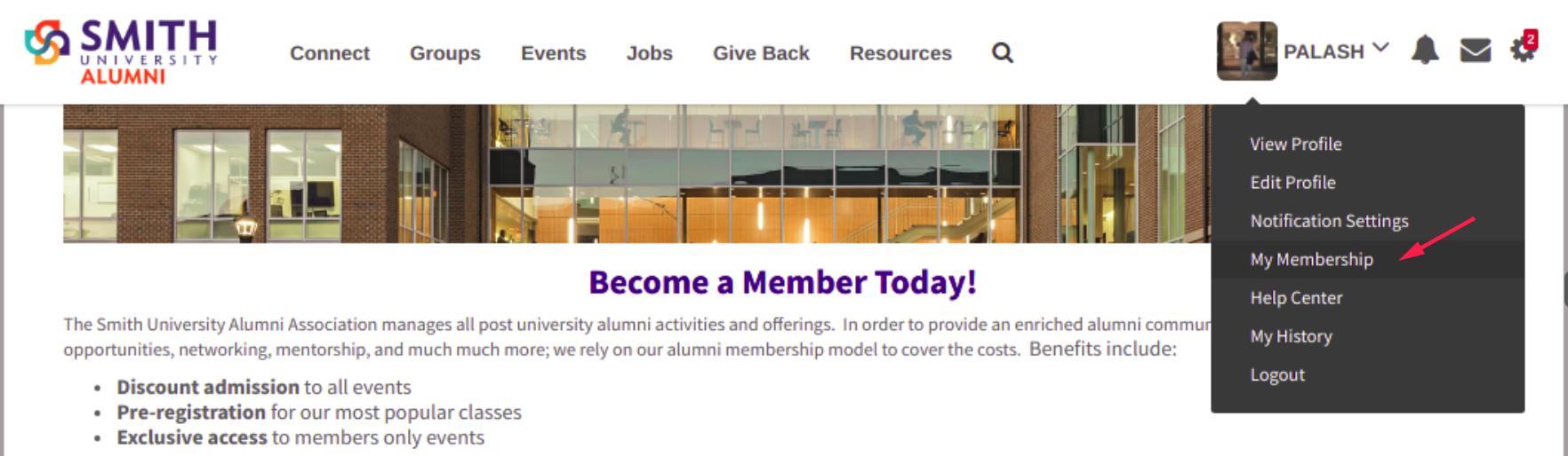 My-Membership