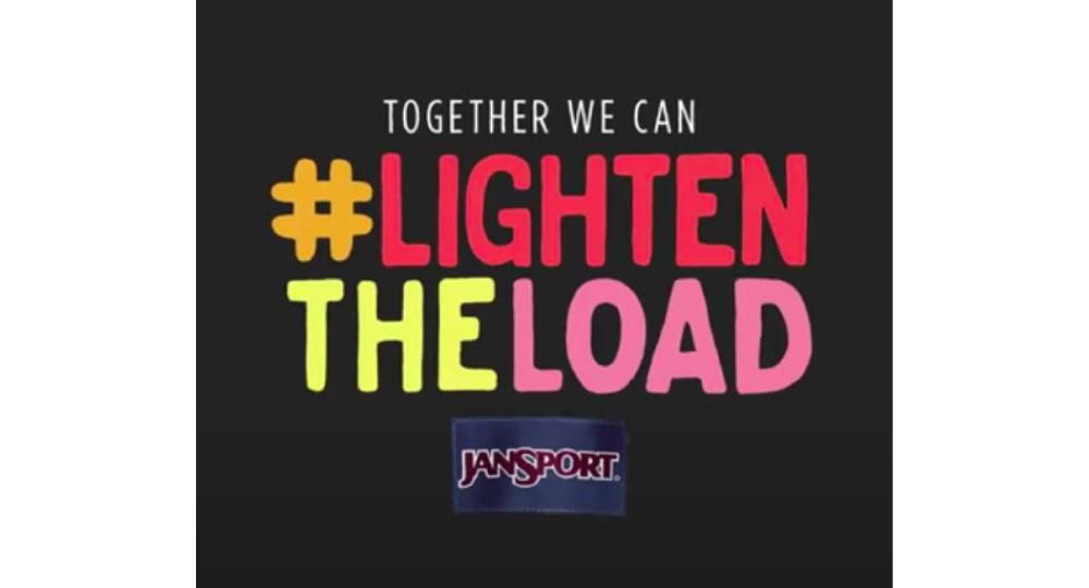 Taptivate,NFC campaign platform,unboxing moment,JanSport,#LightenTheLoad