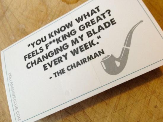 Dollar Shave CLub Chariman