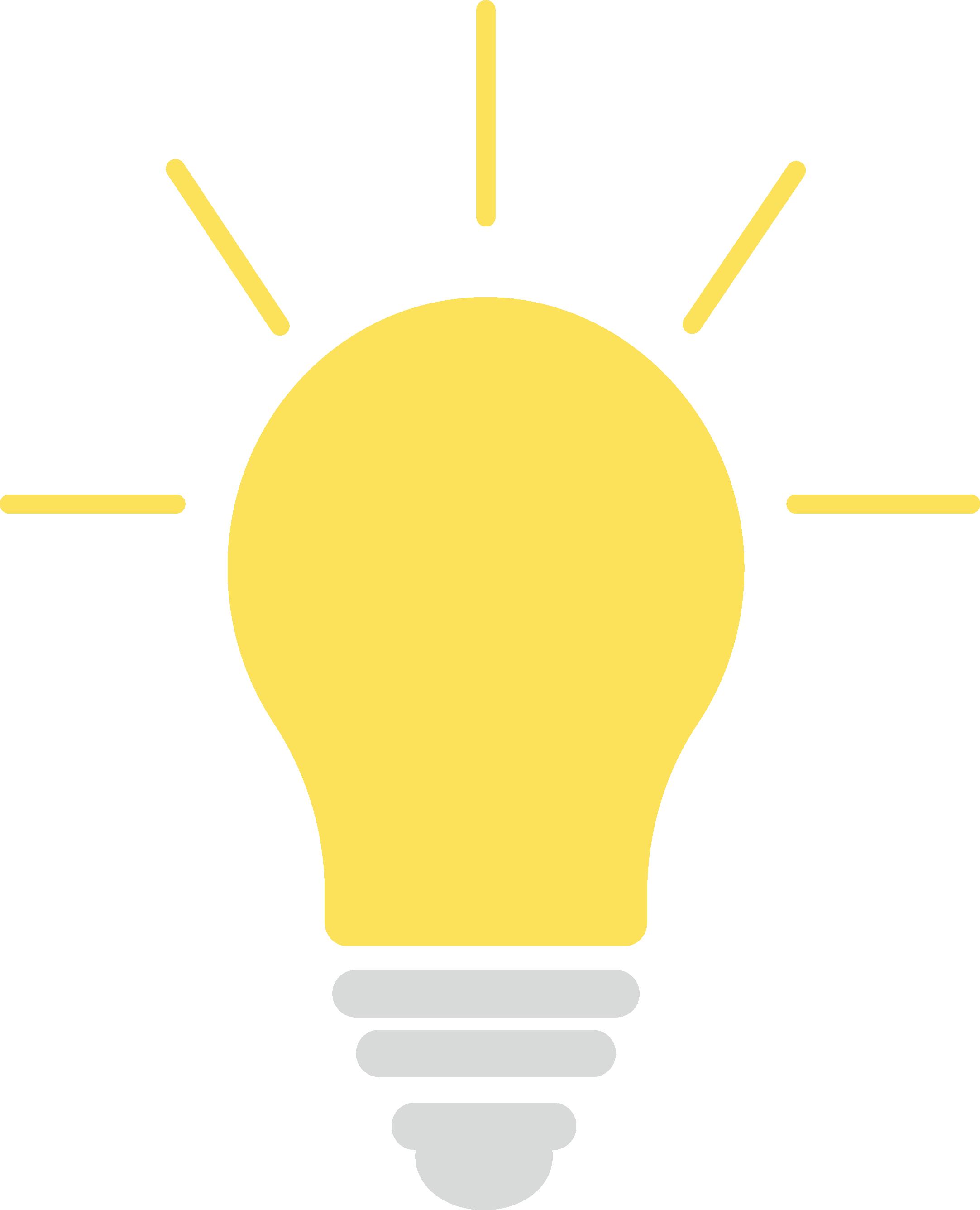 Idea bulb graphic