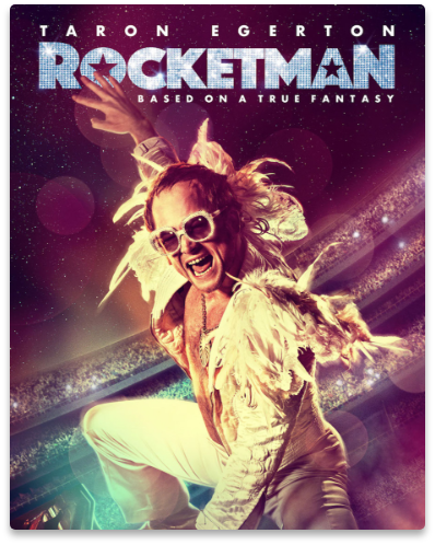 Our services were also provided to Rocketman, a biographical musical film about Elton John.