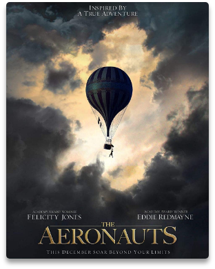The Aeronauts, a production serviced by Metro Riggings, based on the book Falling Upwards: How We Took to the Air.