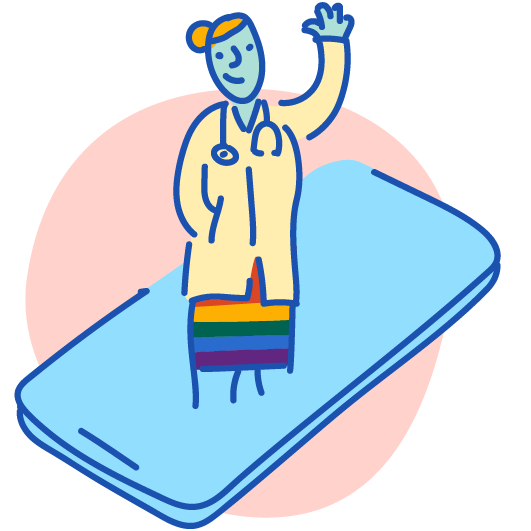 affirming & LGBTQ+ friendly clinicians
